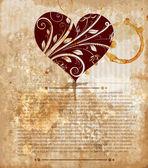 Love invitation — Stock Vector