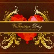 Vector illustration for valentine day — Vettoriali Stock