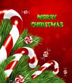 クリスマスのお菓子 — ストックベクタ