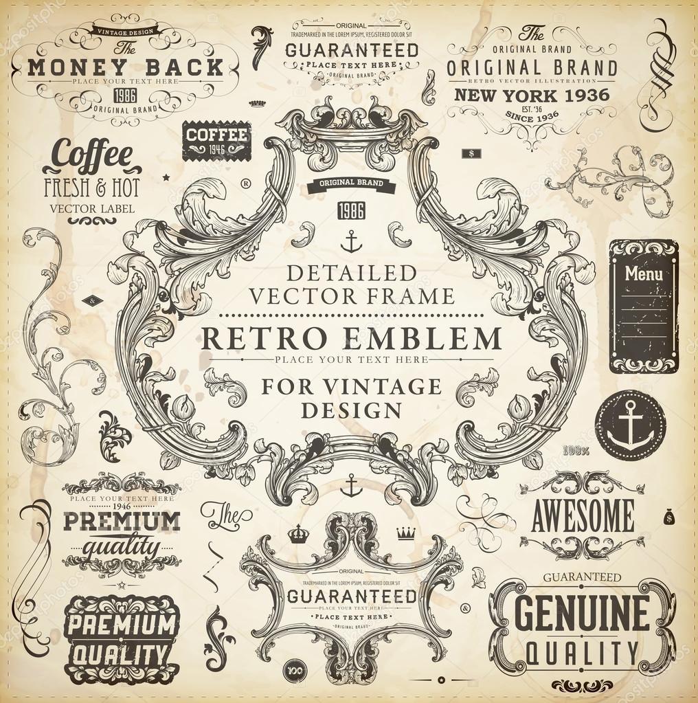 Brilliant Vintage Old Paper Design 1016 x 1023 · 441 kB · jpeg