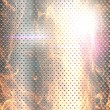 Metal banner background fired - Stockfoto