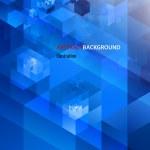 Vector abstract high-tech background — Stock Vector #18077659