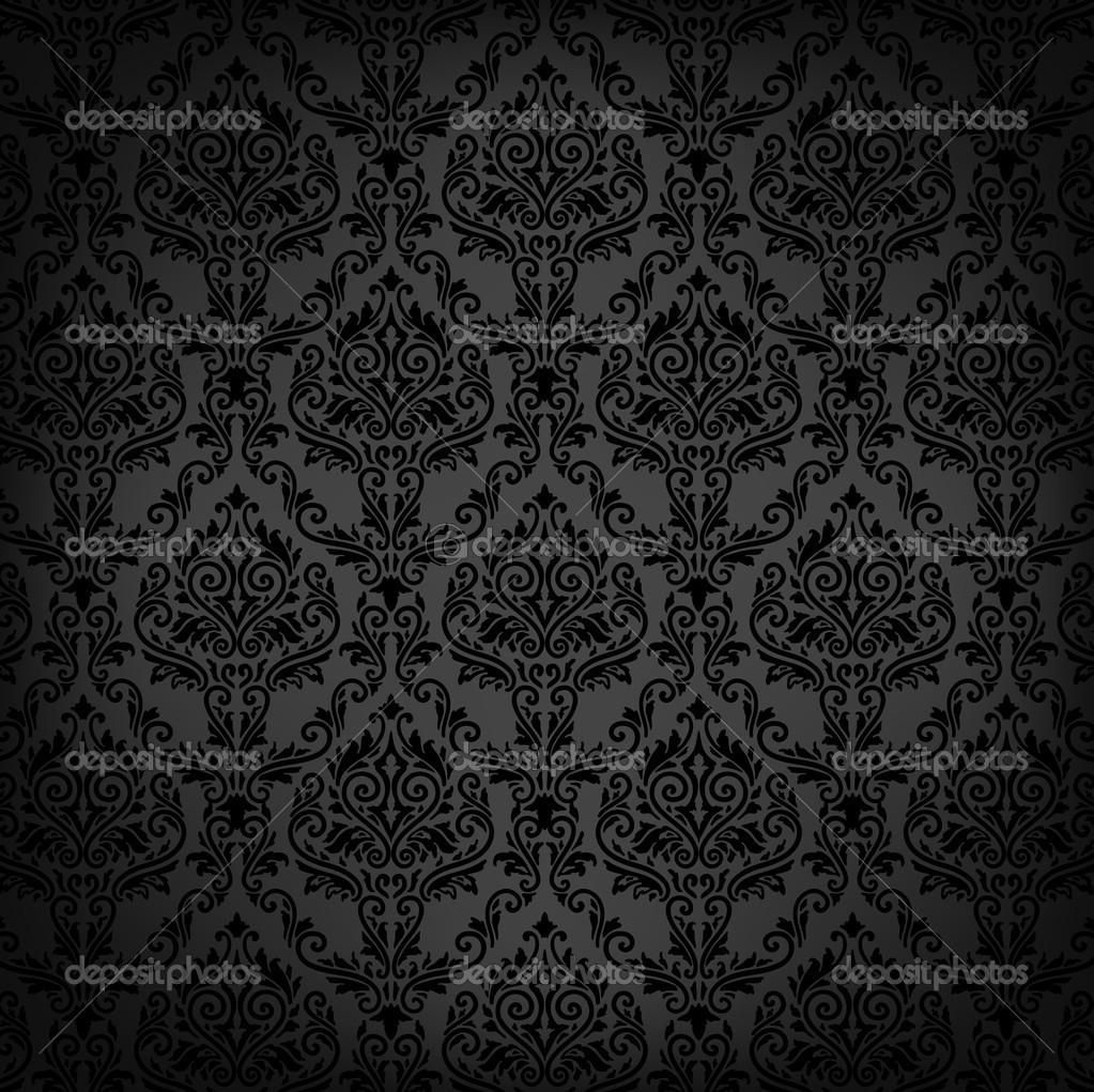 Elegante fondo de damasco con el patr n de papel tapiz for Papel tapiz de patron para el pasillo