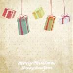 Retro Christmas Card — Stock Vector #18084391