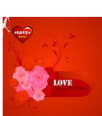 Abstract valentine day vector for background or design. — Stock Vector