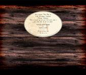 Dřevo textury pozadí s vintage rám — Stock vektor