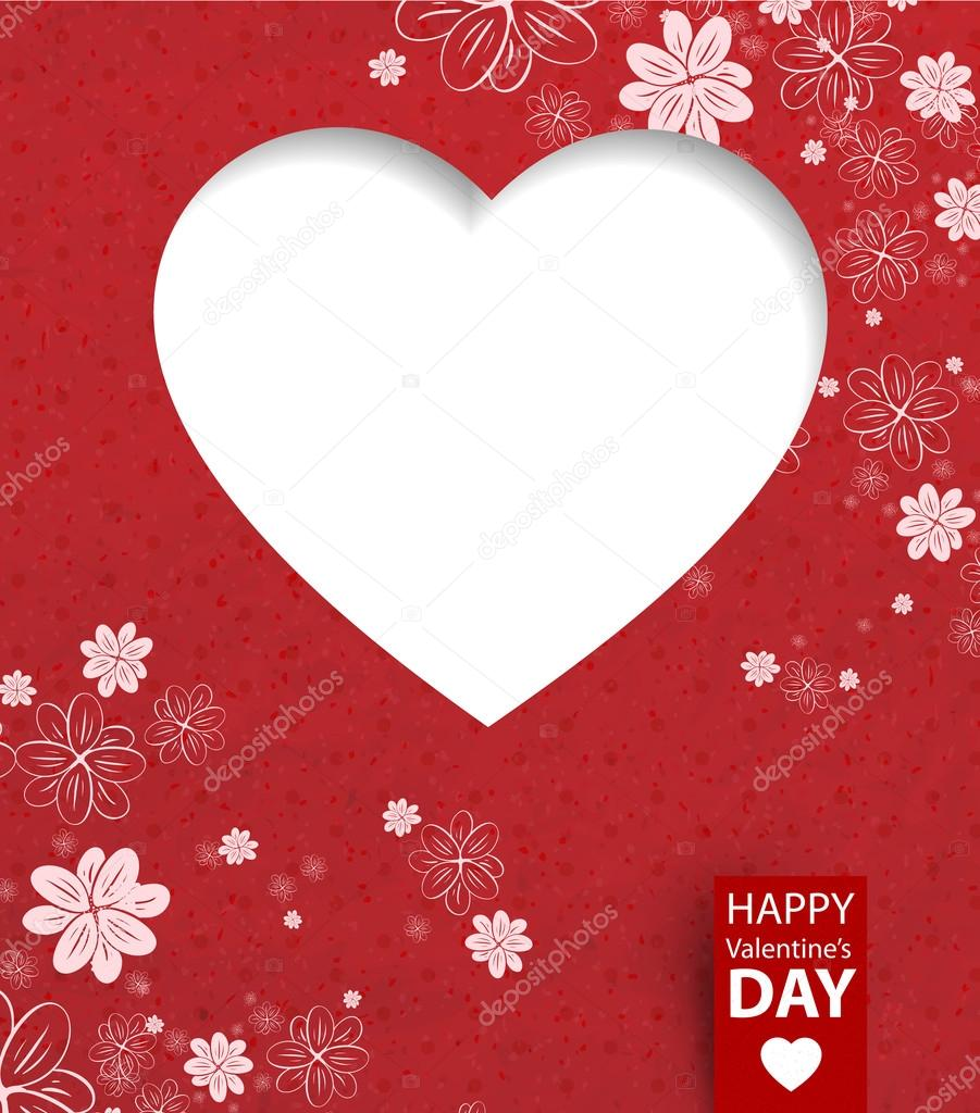 Valentines day card — Stock Vector #18084435