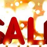 Christmas sale banner. Vector — Stock Vector