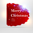 Abstract banner for Christmas vector background — Stock Vector