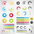 Royalty-Free Stock Vector: Loading, Streaming, Buffering, Play, Go set of Vector Icons