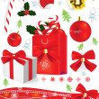 Christmas sweets — Stock Vector