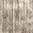 Old wood background with seamless flower pattern  vector design - Stock Vector
