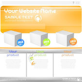 Web design elements extreme collection for business design. Big set with charts, diagrams, buttons, icons and speech bubbles — Vetorial Stock