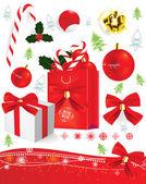 Christmas sweets — Stock Vector