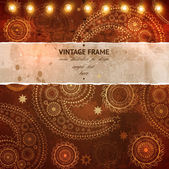 Vintage template — Stock Vector