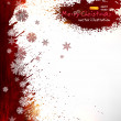 Abstract christmas background — Vector de stock #18256191