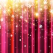 Christmas background vector image — Vector de stock #18317289