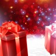 Christmas gifts — Vector de stock #18461469