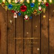 Royalty-Free Stock 矢量图片: Christmas card