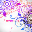Royalty-Free Stock Imagen vectorial: Romantic floral background