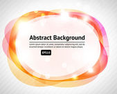 Modern abstraction in color. Abstract Vector Background — Stock Vector