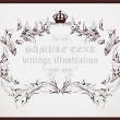 Royalty-Free Stock Vector Image: Vintage frame.