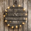 Happy New Year 2012 — Image vectorielle