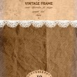 Vintage design template — Vector de stock