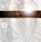 Bezešvé letní světlé květina tapeta, vektorové pozadí, hedvábí. bílá — Stock vektor
