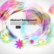 Royalty-Free Stock Vector Image: Abstract floral summer background