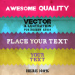 Vintage Styled background for retro design — Imagen vectorial