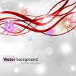 Christmas background vector image — Stock Vector #20180519