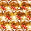 Royalty-Free Stock Векторное изображение: Elegant christmas background with baubles