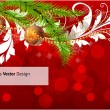 Merry Christmas Elegant Suggestive Background for Greetings Card — Imagens vectoriais em stock