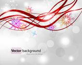 Imagen de navidad fondo vector — Vector de stock