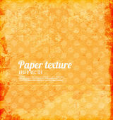 Old paper texture for retro grunge design — Stock Vector