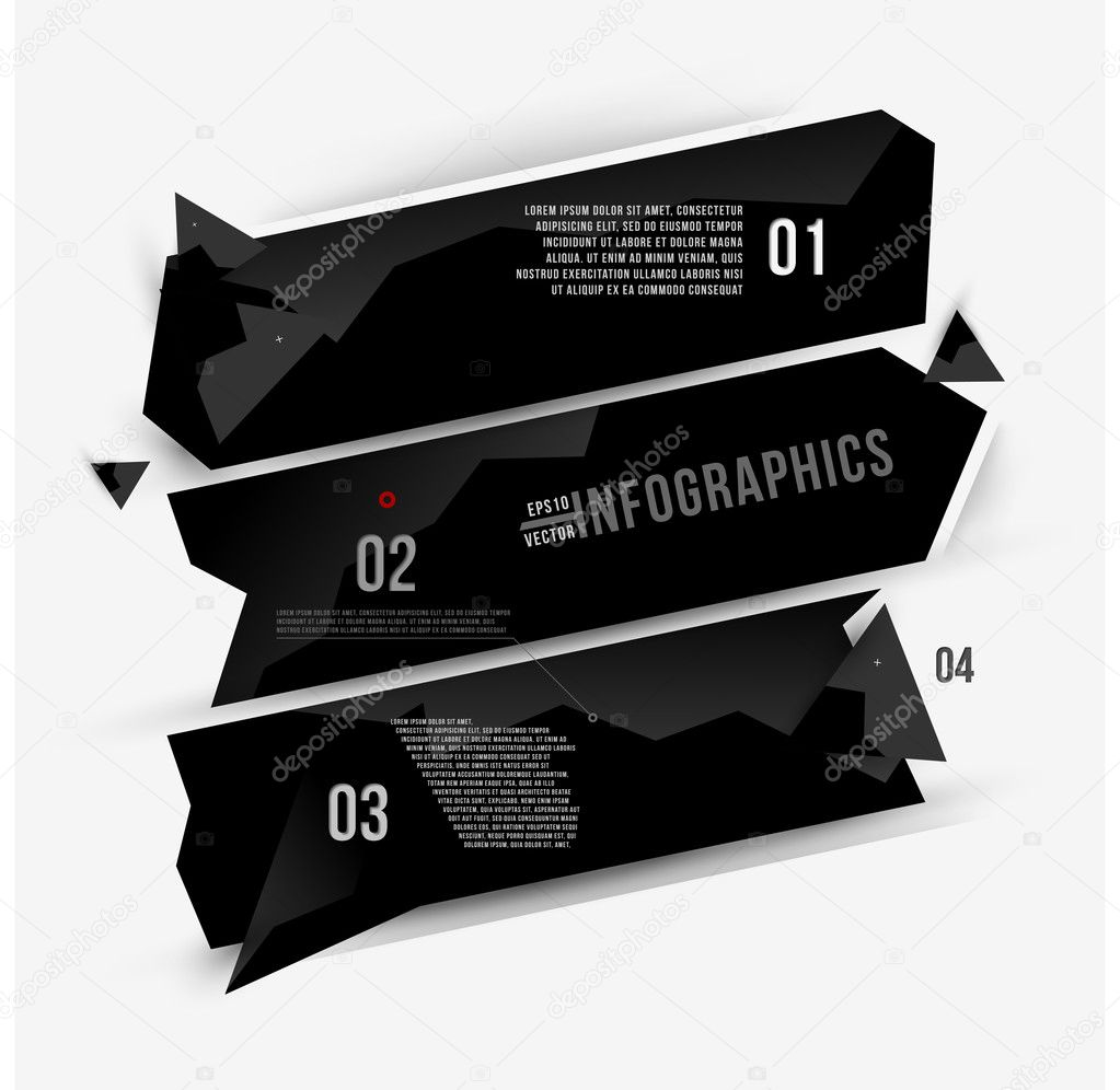 Moder abstract banner design for infographics, business design and ...