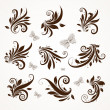 Retro ornament vector set — Vettoriale Stock #29538757