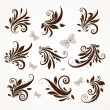 Vetorial Stock : Retro ornament vector set