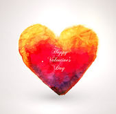 Heart for Valentines Day Design. — Vector de stock
