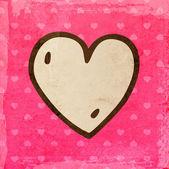 San valentino sfondo con cuore. — Vettoriale Stock