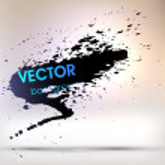 Ink Splatter Background — Stock Vector #42477783