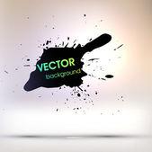 Ink Splatter Background — Stock Vector