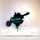 Ink Splatter Background — Stock Vector