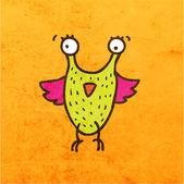 Funny Creature. — Stock Vector