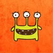 Funny Creature — Stock Vector
