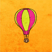 Hot Air Balloon. — Stock Vector