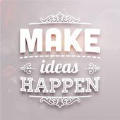 Faire bouger les idées — Vecteur