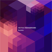 Abstract geometric background for design — Cтоковый вектор