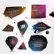 Labels vector set, modern style. — Stock Vector #43228957